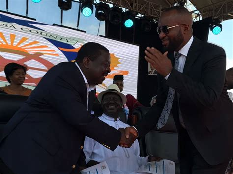 Mombasa Governor Joho Inaugration