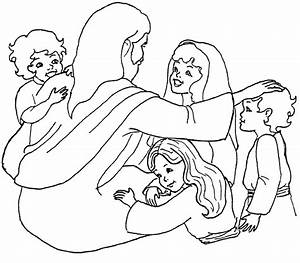 and the Children Coloring Page