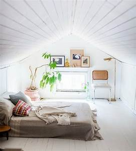 affordable dco chambre sous pente parquet blanc matelas With exceptional de couleur peinture 9 nuanciers peinture ecodis
