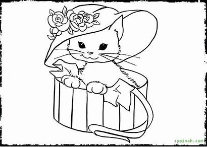 Coloring Cat Pages Fat Printable Sheet Getcolorings