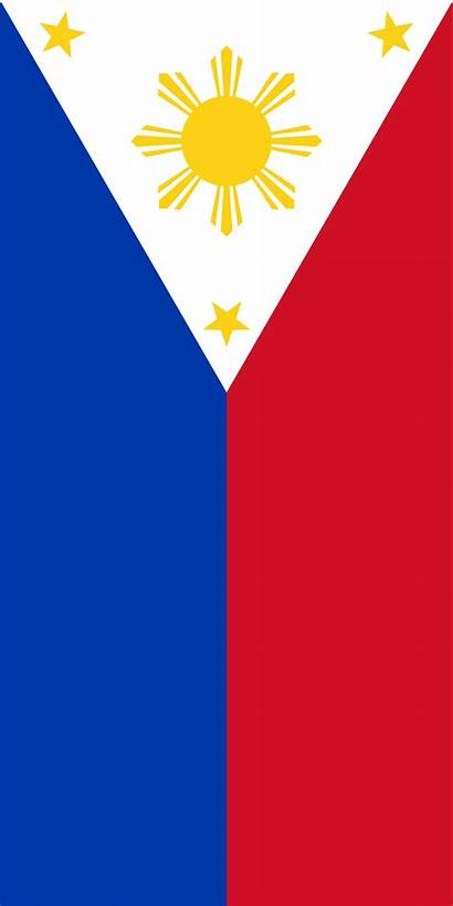 Philippines Flag Filipino Vertical Bandera Svg Wikipedia