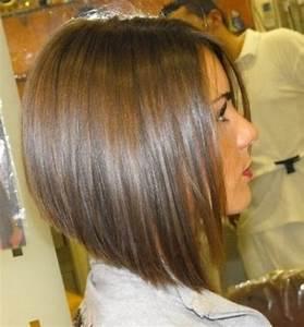 Carré Mi Long Plongeant : coiffure femme carre plongeant ~ Dallasstarsshop.com Idées de Décoration