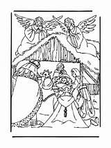Creche Nativite Jésus Crèche Zimmpel Demang Dekna Maduya sketch template