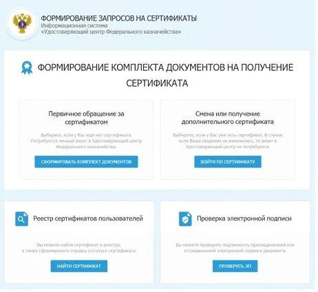 Список удостоверяющих центров электронной подписи