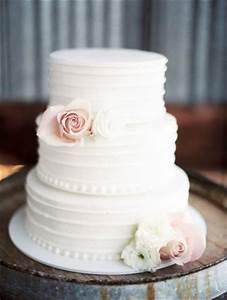 40 elegant and simple white wedding cakes ideas With simple wedding cake ideas