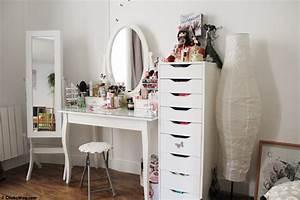 Coiffeuse Pour Chambre : coiffeuse meuble ikea ~ Teatrodelosmanantiales.com Idées de Décoration