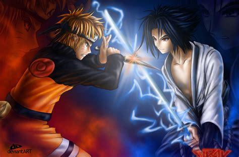 gambar anime epic gambarbaru gambar vs sasuke shippuden