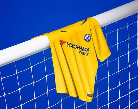 Chelsea Yellow 2018 19 chelsea yellow away kit nike news