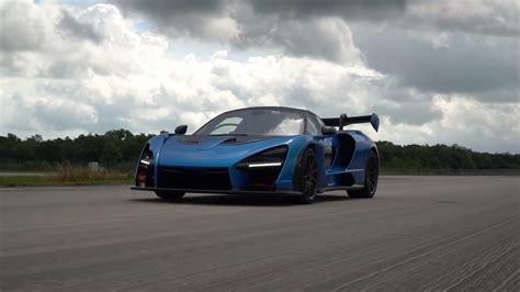video  fast   mclaren senna   top speed