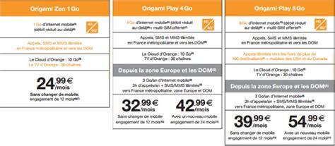 Orange Annonce Ses Nouveaux Forfaits Mobile