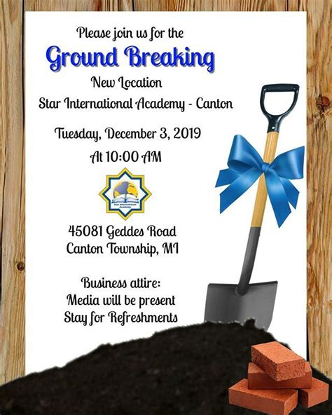 join    ground breaking    location