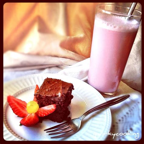 strawberry milk dairy  quirky cooking