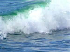 Blue Ocean Waves