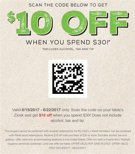 chilis coupons june 2018 printable