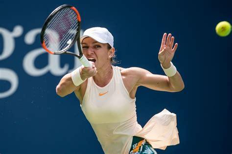 simona halep   open tennis tournament