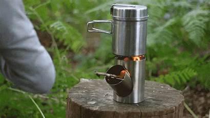 Portable Cooking Stove Rocket Efficient Kombuis Outdoor