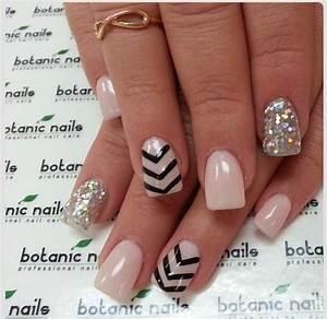 Cute nails : mixed : diamonds   Nail art ღ   Pinterest ...