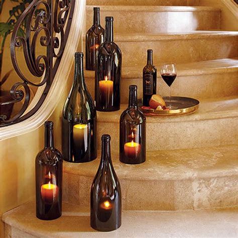 the creative use of wine bottles wine bottles decoration ideas