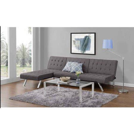 emily convertible futon emily convertible futon with chaise lounger