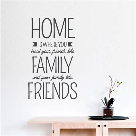 new home quotes friends