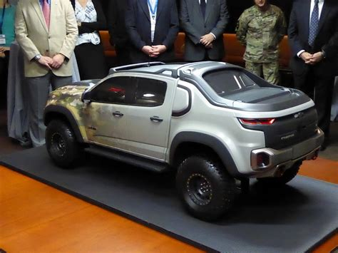 Chevrolet's Colorado Zh2 Pickup Debuts At The Army's Trade