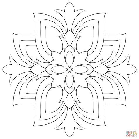 disegni da colorare semplici disegni semplici fiori