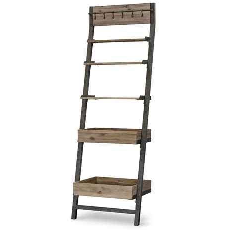 Leaning Bookcase by Oliver Leaning Bookcase