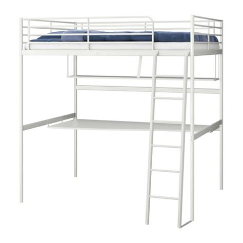 ikea loft bed with desk bedroom furniture beds mattresses inspiration ikea