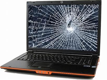 Broken Laptop Screen Cracked Screens