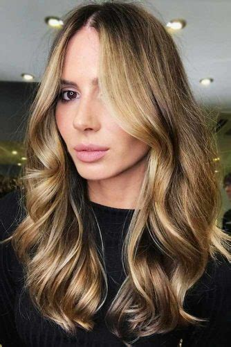 trendy choices  brown hair  highlights