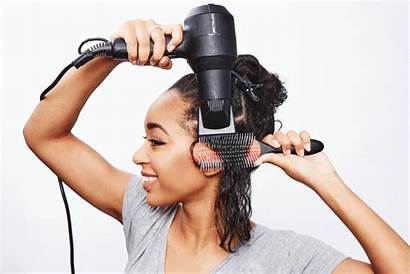 Blow Hair Dryer Comb Dry Attachment Curly