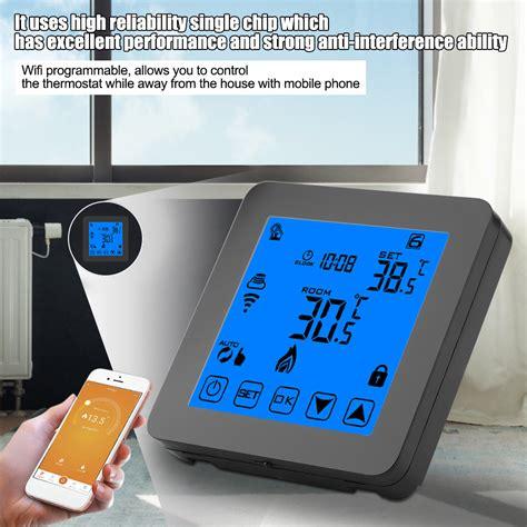 thermostat wlan fußbodenheizung wifi smart thermostat fu 223 bodenheizung temperaturregler