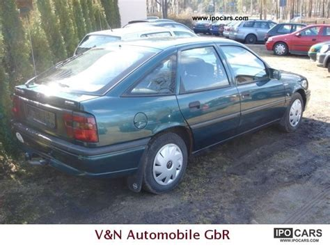opel vectra 1995 1995 opel vectra selection car photo and specs