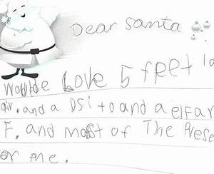 hmmm santa will do his best throwback thursday real With real letter to santa