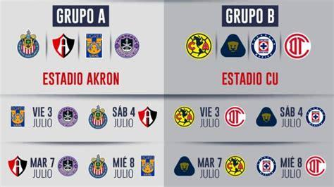 Liga MX: Calendario, fechas y horarios del torneo de ...