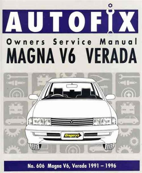 book repair manual 1996 chevrolet corsica transmission control mitsubishi magna v6 verada 1991 1996 autofix owners service repair manual 0855667605