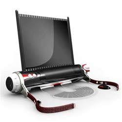 designer notebook design d roll laptop concept