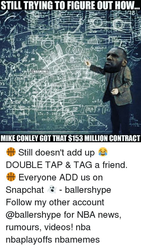 Still Trying To Figure Out How Onbamemes Mike Conley Got