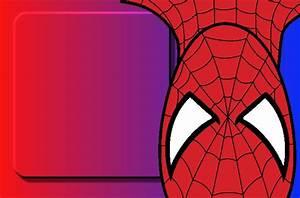 Imágenes y marcos de Spiderman Imágenes para Peques