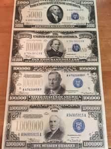 Us Paper Money Uncut Sheets