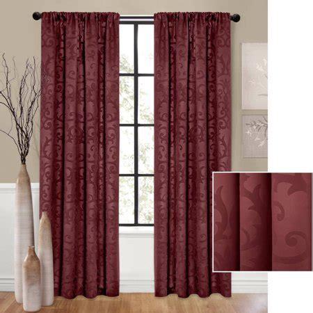 walmart curtain panels better homes and gardens scrolls room darkening curtain