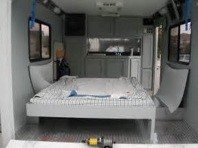 Enclosed Bed by 20ft Enclosed Trailer Play Work Conversion Page 2