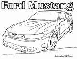 Coloring Ford Pages Mustang Muscle Cars Gt Drawing P51 F150 Getdrawings Printable Boys Yahoo Getcolorings Library Clipart Popular sketch template