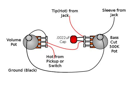 Tone Pot Wiring by Aaronlum Bass Cut Tone Pot Get Some Clarity Out Of