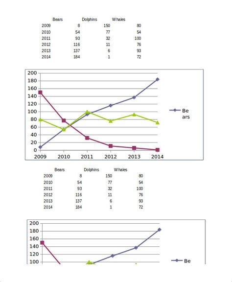 excel graphs template   excel documents