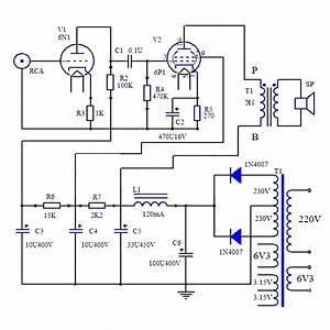 Us 17 86   Jcdq11 Tube Amplifier 6n1 6p1 Valve Stereo