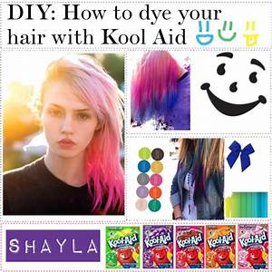 Diy How To Color Your Hair With Kool Aid Hair