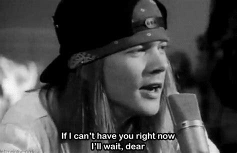 Black And White Guns N Roses Gif