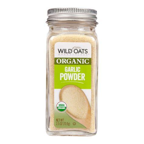 oats marketplace organic garlic powder oats