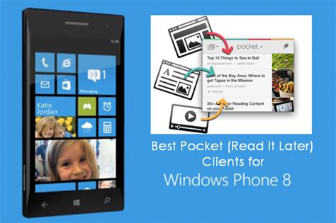 4 best pocket read it later apps for windows phone
